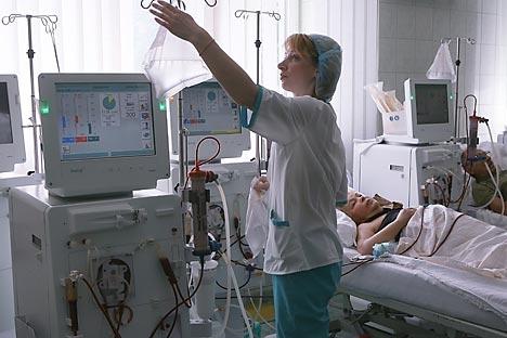 Vale ressaltar que as reformas trouxeram certas melhorias à saúde pública da Rússia Foto: RIA Nóvosti