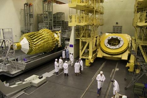 Um dos principais objetivos do RadioAstron é medir o brilho superficial dos núcleos de galáxias ativas Foto: wikipedia.org