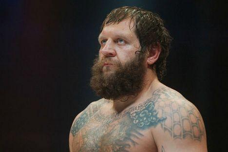 """Emelianenko foi chamado de """"não profissional"""" pela organização de MMA Legend, que rescindiu contrato com o lutador Foto: trud.ru"""