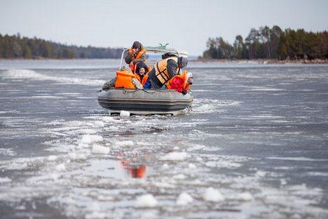 Pútin rejeitou a proposta de acadêmico russo de entregar Ártico a um organismo internacional Foto: strana.ru