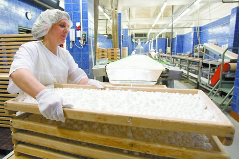 A Rússia tem capacidade produtiva para processar o açúcar bruto. Para tanto, conta com mais de 70 empresas herdadas da ex-União Soviética Foto: PhotoXPress
