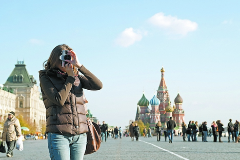 Comparada a outros países, a Rússia ainda recebe uma parcela muito modesta dos turistas brasileiros Foto: Getty Images/Fotobank