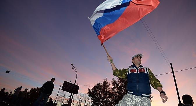 O sentimento de revolta exposto recentemente não é novidade, já que os imigrantes (muitas vezes ilegais) se espalharam por todos os bairros moscovitas Foto: RIA Nóvosti