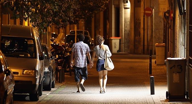 """""""Nossa missão é buscar e acompanhar mulheres que precisam se locomover pela cidade à noite"""" Foto: expobr.ru"""