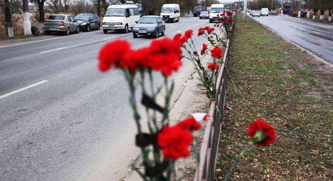Mulher-bomba pode ter descido em Volgogrado para receber detonadores de seus cúmplices Foto: RIA Nóvosti