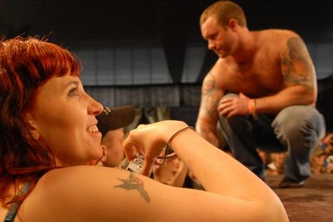 A febre de tatuagens invadiu a Rússia há cerca de 12 anos, quando surgiram três grandes lojas Foto: PhotoXPress