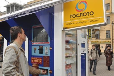 De acordo com os dados, apenas 7% dos russos participam de sorteios Foto: PhotoXPress