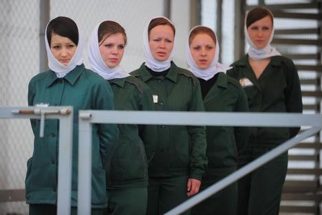 Na Rússia, há cerca de 58 mil mulheres encarceradas Foto: RIA Nóvosti