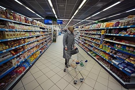Apenas 8% do total de entrevistados afirmaram que os produtos importados são melhores Foto: RIA Nóvosti