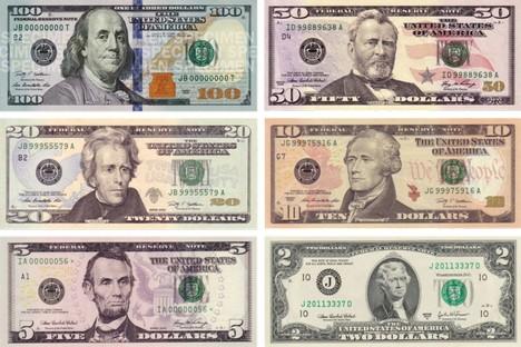 Se a lei for aprovada, residentes russos terão um ano para trocar dólares por rublos ou outras moedas Foto: wikipedia.org