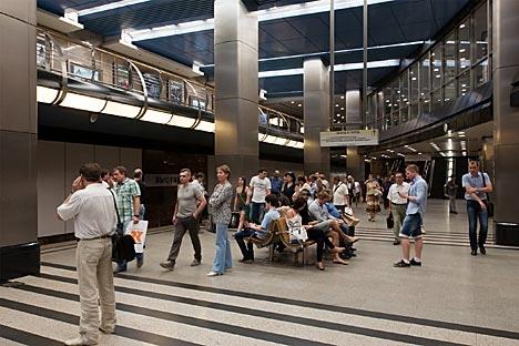 Estação Vistavotchnaia receberá a máquina de venda na próxima sexta-feira (8) Foto: Lori / Legion Media