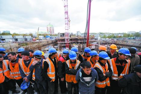 Um dos motivos para as tensões é, porém, a entrada ilegal de mão de obra barata estrangeira Foto: Photoshot/VostockPhoto