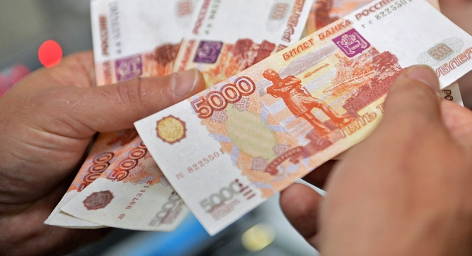 Pouco mais de 70% dos russos acreditam que agora não é momento de fazer compras Foto: RIA Nóvosti