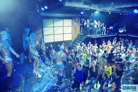 """Do ponto de vista jurídico, o clube gay se encontra em situação complicada Foto: clube """"Estação Central"""""""