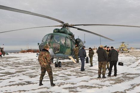 Presidente agradeceu aos que participaram neste ano da recuperação das bases militares nas Ilhas da Nova Sibéria, localizadas entre o Mar de Laptev e o Mar Siberiano Oriental  Foto: PhotoXPress