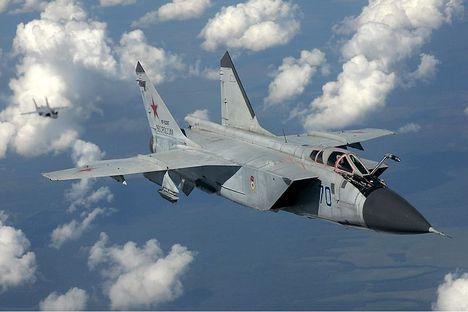 Projeto inclui sistema de radar terrestre e detecção óptica, assim como a versão atualizada do caça MiG-31 Foto: wikipedia.org