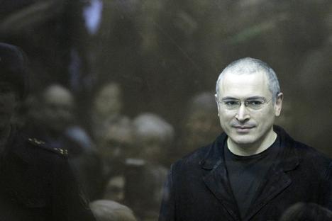 Khodorkóvski alegou que sua condenação teve motivações políticas Foto: Reuters