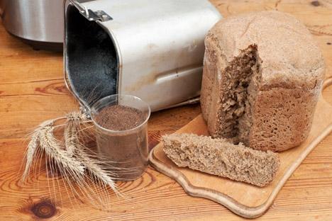 Em Moscou, há lojas que vendem farinha e levedura de padeiro Foto: Lori / Legion Media
