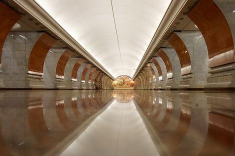 Diversos abrigos subterrâneos tem ligação com as linhas do metrô de Moscou Foto: Dmítri Berdassov