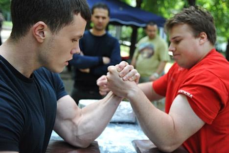 Ambos os competidores foram hospitalizados, mas passam bem Foto: Guerman Chein/RIA Nóvosti
