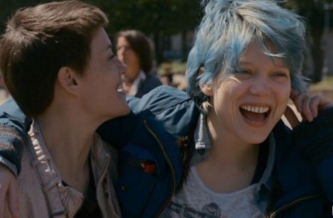 """Especialistas apontaram recentemente sinais de pedofilia no filme francês """"Azul é a cor mais quente"""" Foto: kinopoisk.ru"""