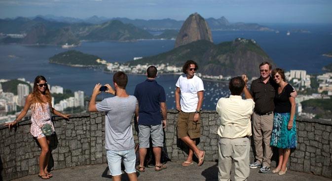 """""""Até 2022, o Brasil vai se tornar a terceira maior economia mundial na área do turismo"""" Foto: AP"""