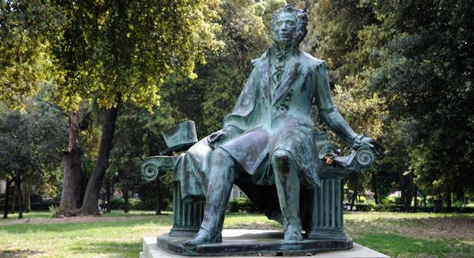 Estátua de Púchkin em Roma Foto: Alamy/Legion Media