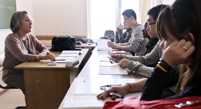 A Rússia precisa criar o seu próprio ranking internacional de universidades com sede na Rússia Foto: ITAR-TASS