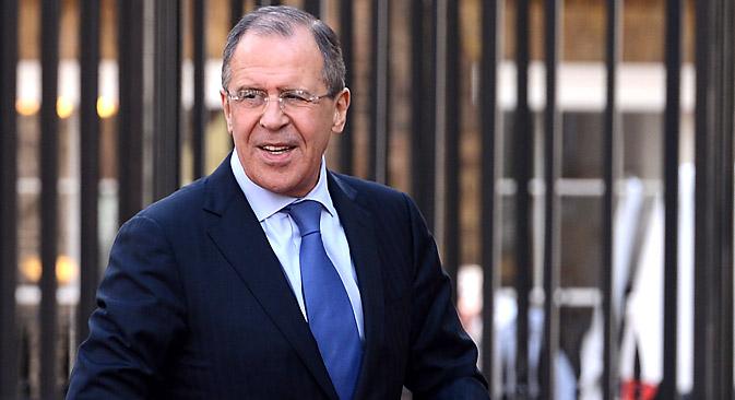 Chefe do Ministério de Relações Exteriores russo, Serguêi Lavrov Foto: Reuters
