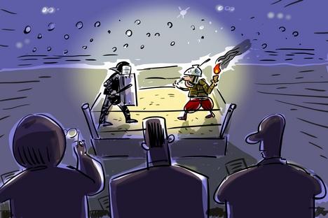 Ilustração: Aleksêi Iórch
