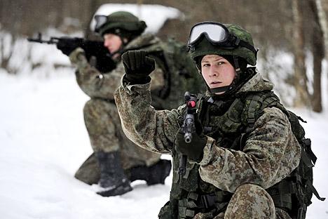 Estrangeiros até 30 anos podem se alistar desde que falem russo e não tenham antecedentes criminais Foto: TASS