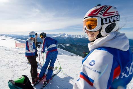 Depois do choque de terminar na 11ª posição em Vancouver-2010, a Rússia definiu o objetivo de conquistar a glória em Sôtchi Foto: AFP/East News