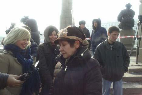 Mulheres expressaram indignação e prometeram estocar roupas íntimas nos próximos meses Foto: Dina Baidildayeva / Twitter