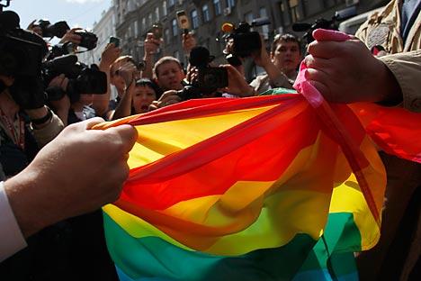 """Jurova: """"Atletas heterossexuais e gays devem receber tratamento igual"""" Foto: Reuters"""