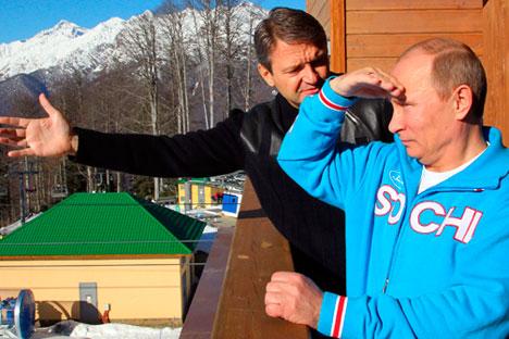 Vladímir Pútin conta que escolheu pessoalmente o local para a realização das competições esportivas Foto: Reuters