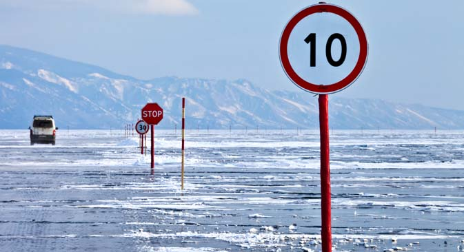 Aventureiros costumam visitar Baikal no inverno Foto: Lori / Legion Media