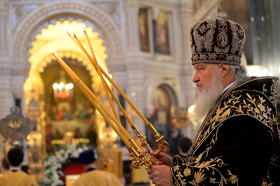 Patriarch Kirill of Moscow and All Russia.