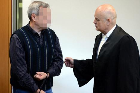 Andreas Anshlag, 54, e sua esposa foram presos no final de 2011 por suspeita de espionagem em favor da Federação Russa Foto: ITAR-TASS