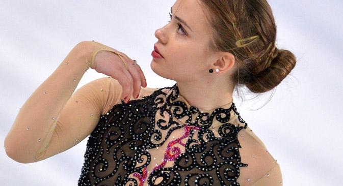 Isadora Williams é a primeira patinadora brasileira a participar dos Jogos Olímpicos de Inverno em toda a história da patinação artística Foto: Vladímir Pésnia/RIA Nóvosti