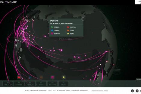 Especialistas da Kaspersky Lab lidam com mais de 300 mil malwares todos os dias Foto: Kaspersky Lab