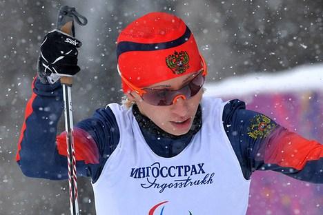 Mikhalina Lissova foi a melhor no sprint final Foto: RIA Nóvosti