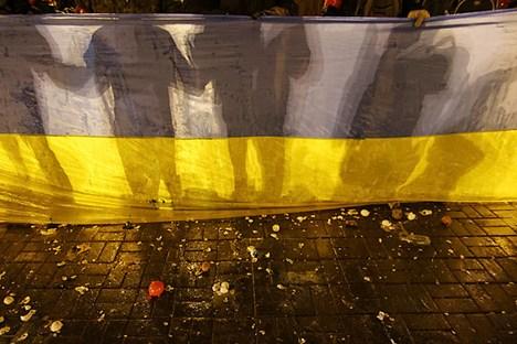 """""""Políticos de Kiev estão tentando impor ao povo ucraniano as ideias prevalecentes nas regiões ocidentais ucranianas"""" Foto: Reuters"""