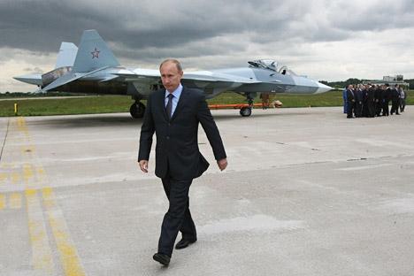 Rússia está pronta para discutir a possibilidade de criação de uma joint venture em suas negociações com o Brasil Foto: ITAR-TASS