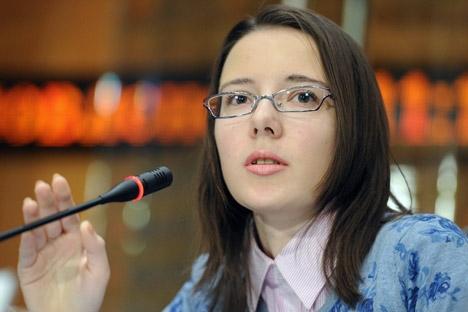 """Masolova foi classificada entre as Top 30 jovens empresárias da internet pela """"Forbes Rússia"""" Foto: ITAR-TASS"""