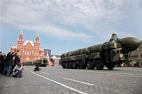 Lançamento foi apenas teste de equipamento avançado de combate dos mísseis balísticos intercontinentais Foto: ITAR-TASS