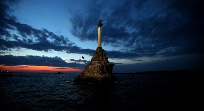 Ao longo de sua história, a Crimeia esteve sob a esfera de influência do Império Romano Oriental Foto: ITAR-TASS