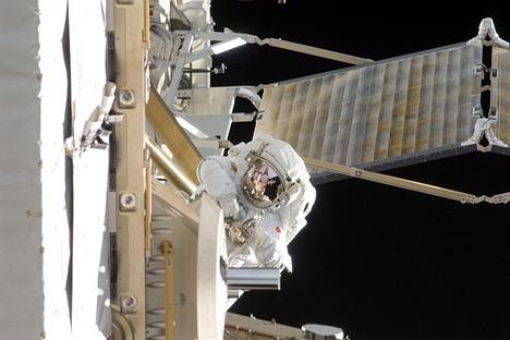 ISS vai receber novos tripulantes no final de maio Foto: Nasa