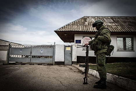 Única IATM que a Rússia tem atualmente no exterior fica no porto de Tartus, no norte da Síria Foto: Photoshot/Vostock-Photo