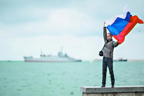Anexação Para além das sanções impostas por Estados Unidos e União Europeia, Rússia terá muitos outros gastos com pensínsula Foto: DPA/Vostock Photo