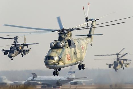 Top 5 helicópteros russos width=